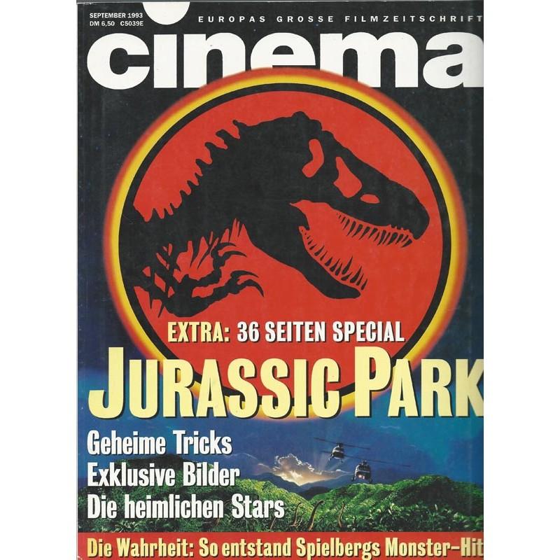 CINEMA 9/93 September 1993 - Jurassic Park
