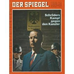 Der Spiegel Nr.32 / 31 Juli 1967 - Schröders Kampf gegen den Kanzler