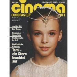 CINEMA 5/84 Mai 1984 - Tami, ein Stern leuchtet auf