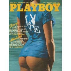 Playboy Nr.3 - März 1982 - Diana Fitzgerald