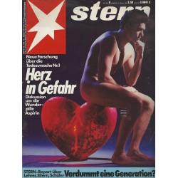 stern Heft Nr.8 / 18 Februar 1988 - Herz in Gefahr