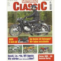Motorrad Classic 2/99 - März/April 1999 - BMW R 50/R 60