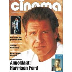 CINEMA 12/90 Dezember 1990 - Angeklagt: Harrison Ford