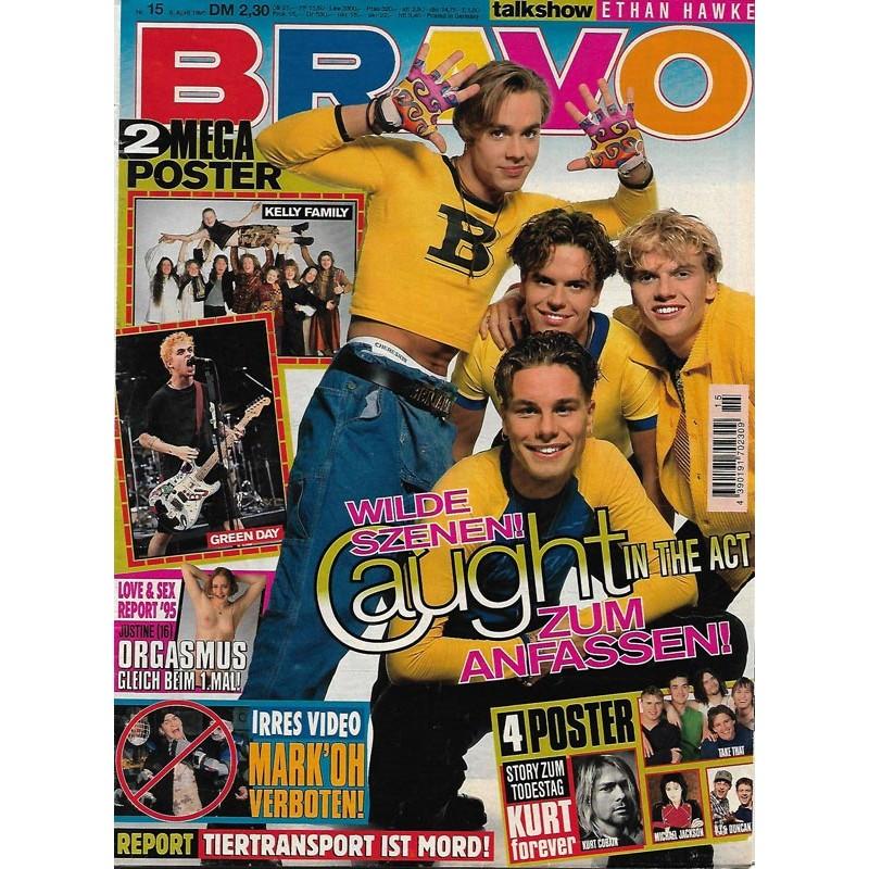 BRAVO Nr.15 / 6 April 1995 - Wilde Szenen! Caught in the Act