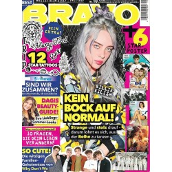 BRAVO Nr.10 / 24 April 2019 - Billie Eilish, kein Bock auf normal