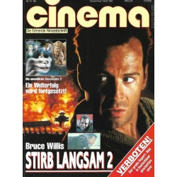CINEMA 11/90 November 1990 - Stirb Langsam 2