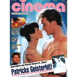 CINEMA 10/90 Oktober 1990 - Patricks Geisterhit Ghost