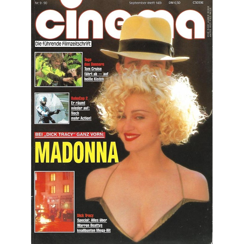 CINEMA 9/90 September 1990 - Madonna