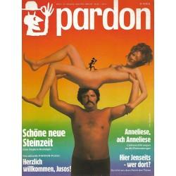 pardon Heft 4 / April 1973 - Schöne neue Steinzeit