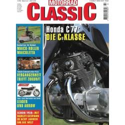 Motorrad Classic 3/93 - Mai/Juni 1999 - Honda C 77: Die C-Klasse