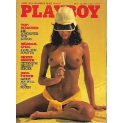 Playboy Nr.7 / Juli 1981 - Yasmine Mehr-Aine