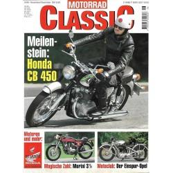 Motorrad Classic 6/98 - November/Dezember 1998 - Honda CB 450