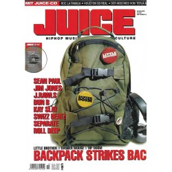JUICE Nr.79 Oktober / 2005 & CD 57 - Backpack Strikes Back