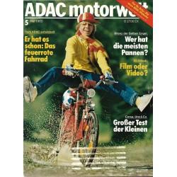 ADAC Motorwelt Heft.5 / Mai 1983 - Das feuerrote Fahrrad