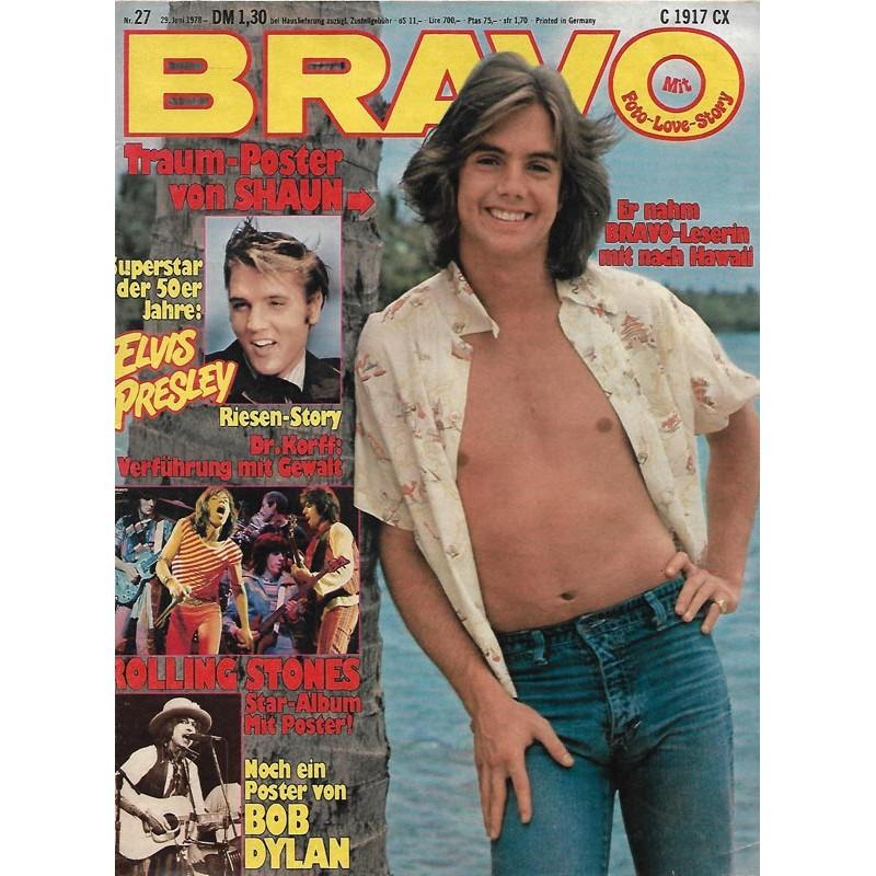 BRAVO Nr.27 / 29 Juni 1978 - Shaun auf Hawaii