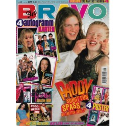BRAVO Nr.41 / 5 Oktober 1995 - Paddy sorgt für Spass