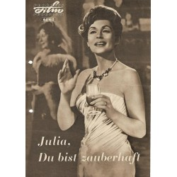 Programmheft 61/63 - Julia, du bist zauberhaft