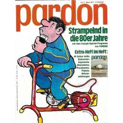 pardon Heft 3 / März 1977 - Strampelnd in die 80er Jahre