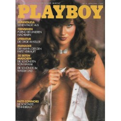 Playboy Nr.4 - April 1982 - Patti McGuire