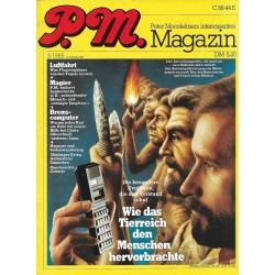 P.M. Ausgabe März 3/1985 - Wie das Tierreich den Menschen hervorbrachte