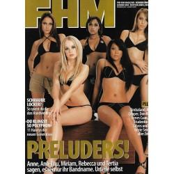 FHM Januar 2004 - Preluders!