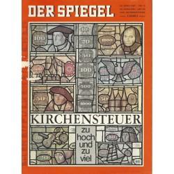 Der Spiegel Nr.13 / 24 März 1969 - Kirchensteuer