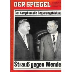 Der Spiegel Nr.40 / 29 September 1965 - Strauß gegen Mende