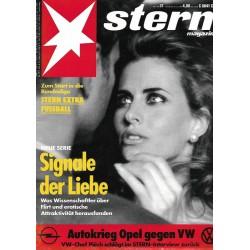 stern Heft Nr.31 / 29 Juli 1993 - Signale der Liebe