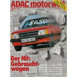 ADAC Motorwelt Heft.3 / März 1983 - Der Hit: Gebrauchtwagen
