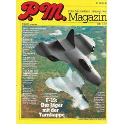 P.M. Ausgabe April 4/1985 - F-19 der Jäger mit der Tarnkappe