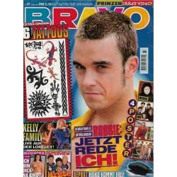 BRAVO Nr.37 / 7 September 1995 - Robbie, jetzt rede ich!
