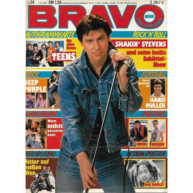 BRAVO Nr.24 / 4 Juni 1981 - Shakin Stevens