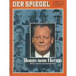 Der Spiegel Nr.44 / 27 Oktober 1969 - Bonns neue Herren
