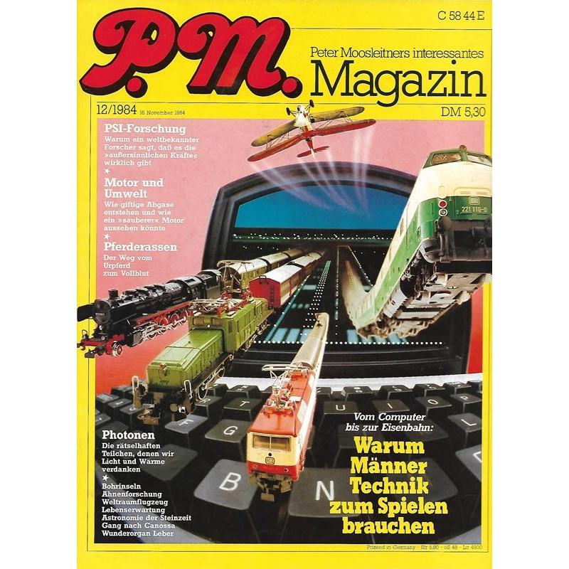 P.M. Ausgabe Dezember 12/1984 - Warum Männer Technik zum Spielen brauchen