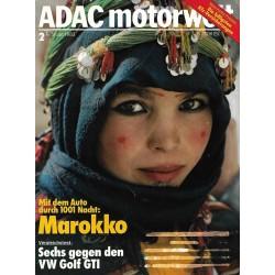 ADAC Motorwelt Heft.2 / Februar 1983 - Marokko