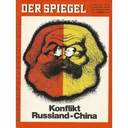 Der Spiegel Nr.14 / 31 März 1969 - Konflikt Russland-China