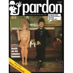 pardon Heft 5 / Mai 1973 - Ein Porno Roman....