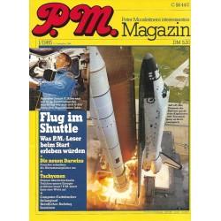P.M. Ausgabe Januar 1/1985 - Flug im Shuttle