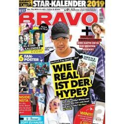 BRAVO Nr.1 / 19 Dezember 2018 - Deutsch-Rap überall, aber...