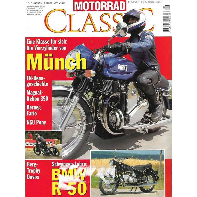 Motorrad Classic 1/97 - Januar / Februar 1997 - Münch
