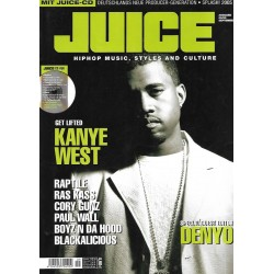 JUICE Nr.78 September / 2005 & CD 56 - Get lifted Kanye West