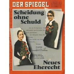 Der Spiegel Nr.10 / 2 März 1970 - Scheidung ohne Schuld