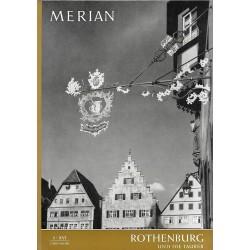 MERIAN Rothenburg und die Tauber 5/XVI Mai 1963