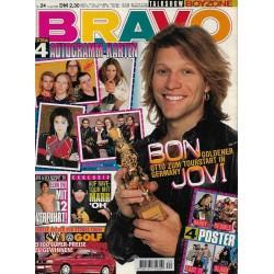 BRAVO Nr.24 / 8 Juni 1995 - Bon Jovi
