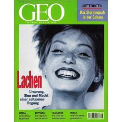 Geo Nr. 8 / August 1997 - Lachen