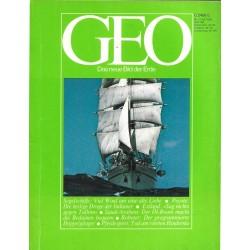 Geo Nr. 7 / Juli 1980 - Segelschiffe