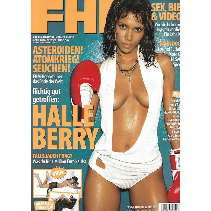 FHM April 2004 - Halle Berry