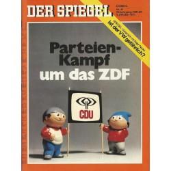 Der Spiegel Nr.41 / 4 Oktober 1971 - Parteienkampf um das ZDF