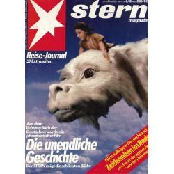 stern Heft Nr.6 /  2 Februar 1984 - Die unendliche Geschichte