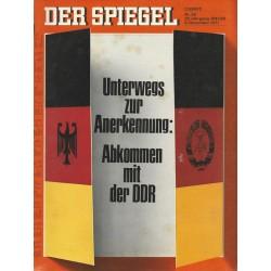 Der Spiegel Nr.50 / 6 Dezember 1971 - Abkommen mit der DDR